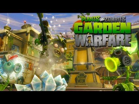 plants vs zombies garden warfare how to play split screen