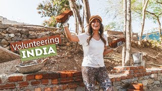 HELPING OUT in INDIA! | Me to We Day 1