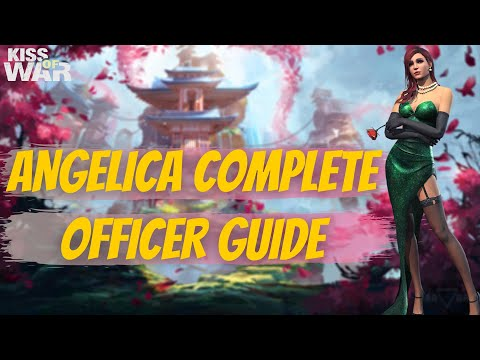 Angelica Complete Officer Guide - Kiss of War