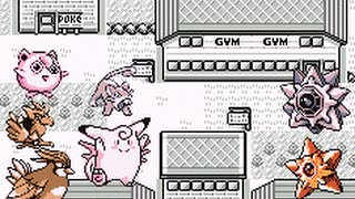 Pokemon Blue : Normal Mono-type run [Gym Leader Misty]