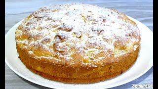 ЯБЛОЧНЫЙ ПИРОГ Бесподобный Пирог с Яблоками Легко и Просто Рецепт.