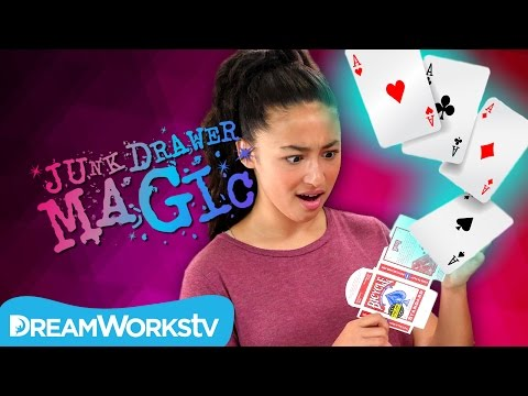 Deck of Cards out of Nowhere Trick | JUNK DRAWER MAGIC
