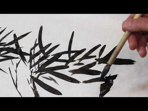Китайская живопись видео уроки