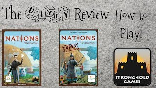 Nations The Dice Game And Unrest Expansion: A Dicey Walkthrough!