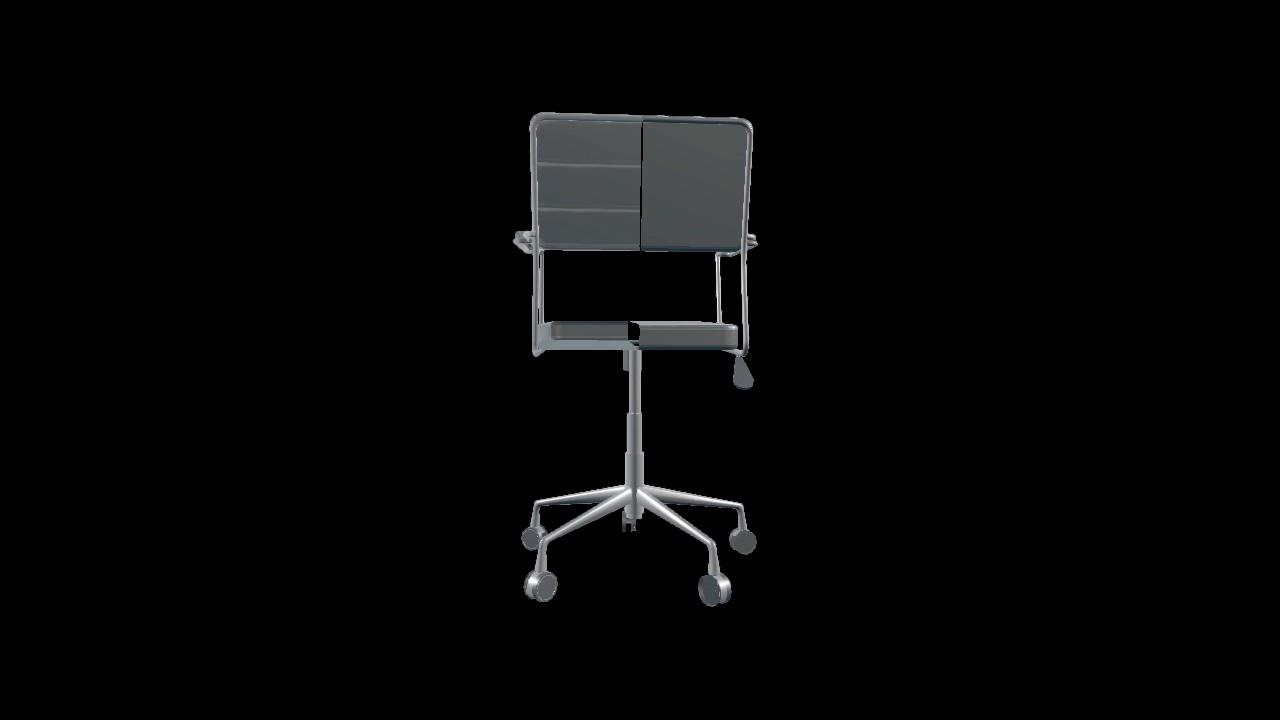 Green Screen Effects 82891 Office Chair Dottore Black