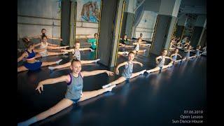 Открытый урок Contemporary Dance | студия современной хореографии Sun Dance House | дети 7-10 лет