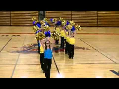 Negaunee Middle School Dance Team...WHS Show