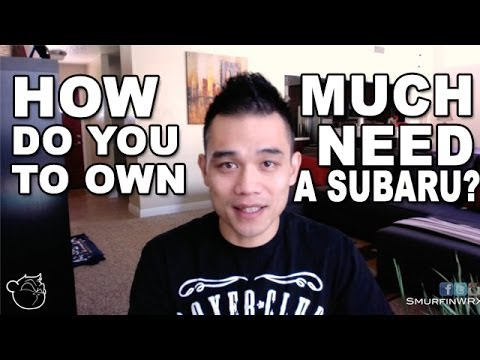 how much does it cost to own a 2014 subaru wrx sti youtube. Black Bedroom Furniture Sets. Home Design Ideas