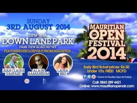 MAURITIAN OPEN AIR FESTIVAL 2014 - Official Advert!