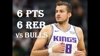Baixar Nemanja Bjelica 6 Pts 6 Reb Sacramento Kings vs Chicago Bulls