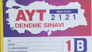 AYT/ ÖZDEBIR-2121- , 25 EKIM , MAT GEO