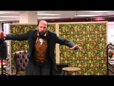 Charles Dickens Great-great Grandson Performs A Christmas Carol