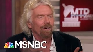 Richard Branson: Time To End 'Failed' War On Drugs | MTP Daily | MSNBC