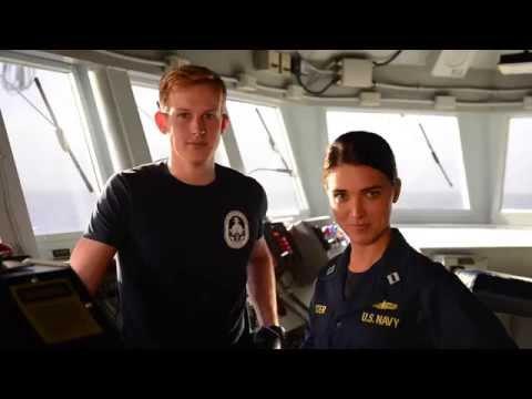 TNT's The Last Ship actors cheer on Navy