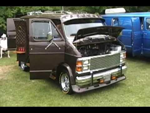 Nautilus radical chopped custom van @ Vanfest 13, June ...