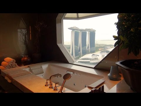 Check out the amazing Ritz Suite at the Ritz-Carlton Millenia Singapore