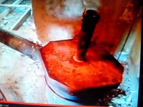 видео: печь длительного горения. твердотопливный котёл верхнего горения.