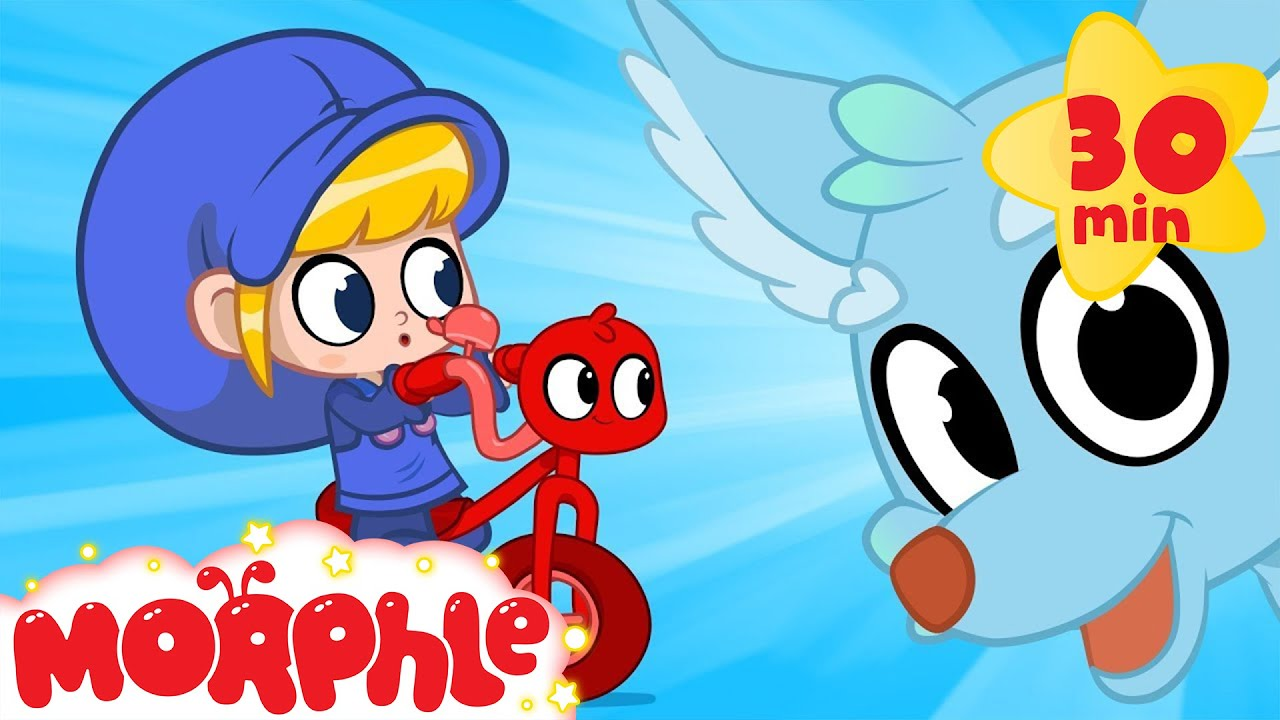 My Magic Bicycle Morphle and the Magic Fox! My Magic Pet Morphle videos for kids