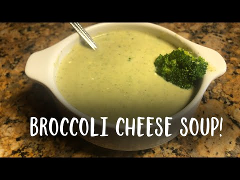 Vegetarian Broccoli Cheese Soup | Show Me The Curry Recipes