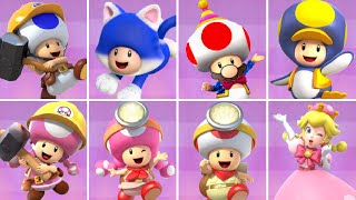 All Toad & Toadette Characters in Mario Kart Tour
