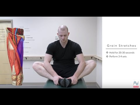Top Treatments for a Pulled Groin - Groin Strain Exercises