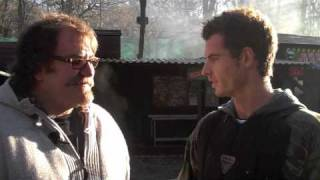 Andy Murray visits Campaign Paintball & Laser Park