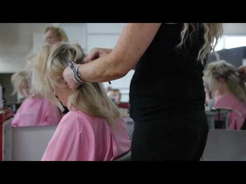 Hair Extensions Demonstration - Trains of Hornsea - Hull College Hair & Beauty