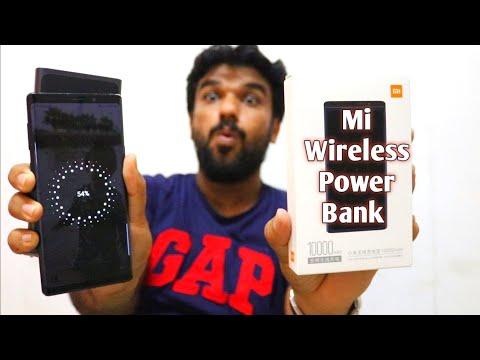 Hindi   Xiaomi Wireless Power Bank 🔥🔥 Unboxing Availability In Dubai