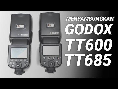 Tutorial Cara Menyambungkan Flash Godox TT600 ke TT685 - Optical Slave dan Wireless Master Slave