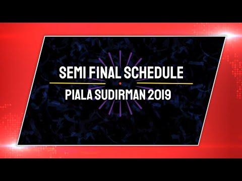 SUDIRMAN CUP 2019: Jadwal Pertandingan Semi Final & Line Up Pemain