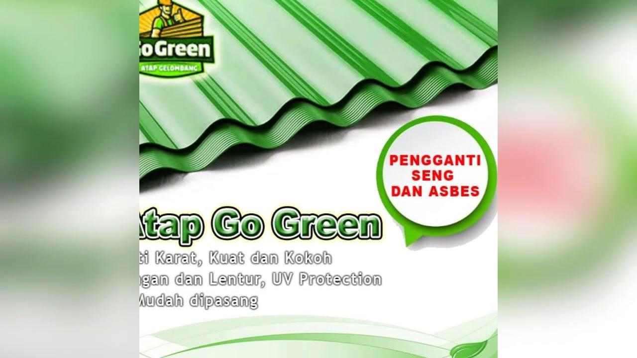 Jual Atap Go Green Semarang Atap Gelombang Plastik Atap Ramah Lingkungan Kunaifi Jaya Youtube Seng plastik go green