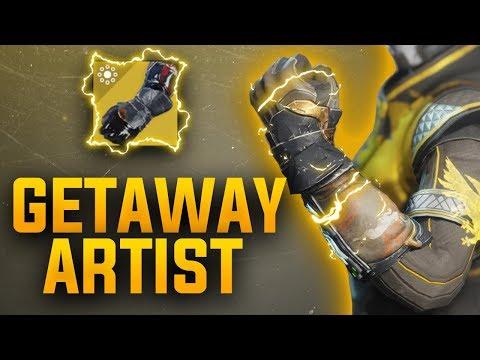 Destiny 2: Getaway Artist New Warlock Exotic Gauntlets   Jokers Wild