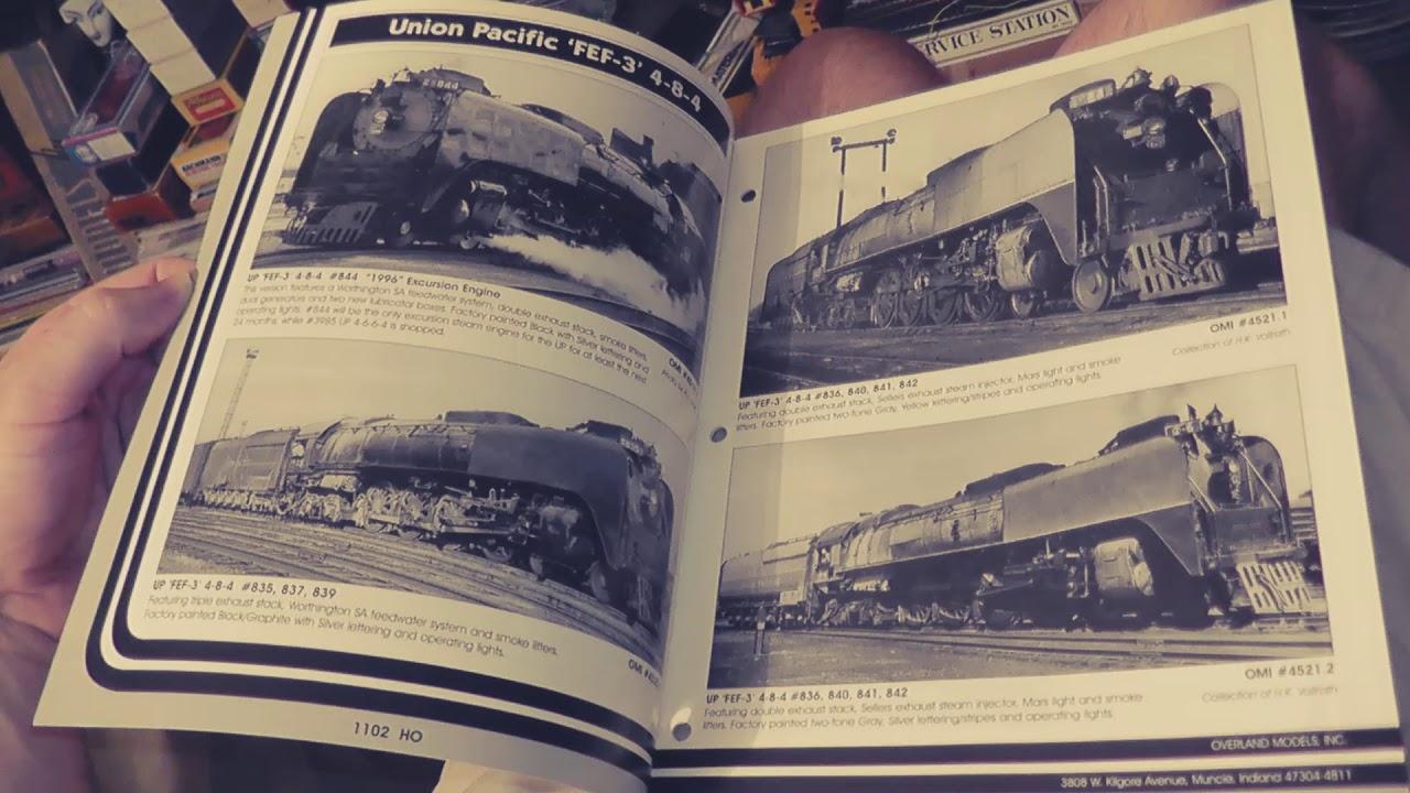 overland models mail bulletin ho brass catalogs omi n s o sn3 on3 hon3