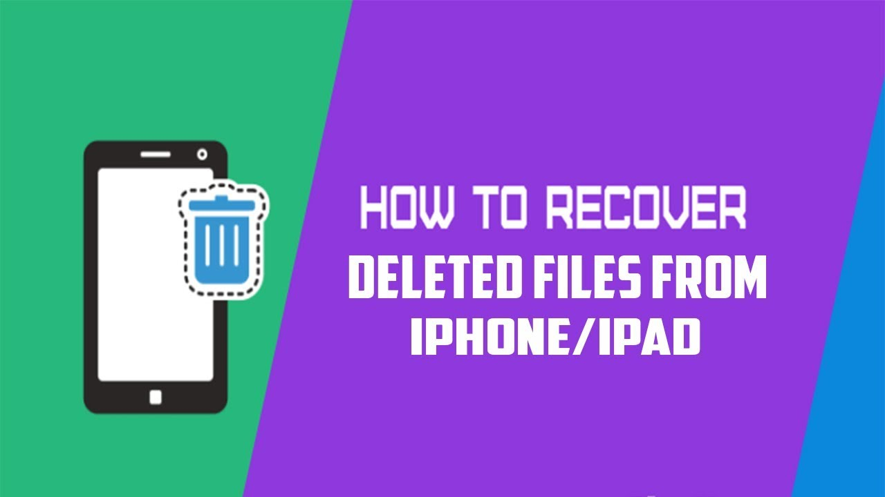 Find Deleted Files On Iphone