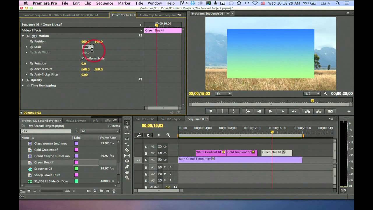 Video Editing: How to Use Gradient Filter in Premiere - YouTube
