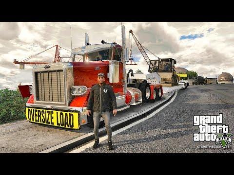 GTA 5 REAL LIFE MOD #503 CONSTRUCTION WORK!!! (GTA 5 REAL LIFE MODS) #fail 4K 60FPS