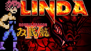 """Double Dragon IV (PS4) ~ """"Linda"""" Trophy/Playthrough"""