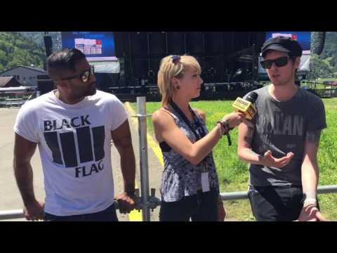 """Greenfield 2017 - SUM 41 Interview: """"Wälderbähnle"""""""