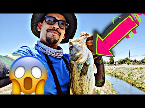💥💥Giant Bass Drainage Ditches With Super Low Water 💥💥💥