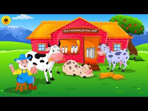 Bé Học Tiếng Anh qua Bài hát Old MacDonald  had a Farm