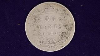 1892 Canadian 50 Cent