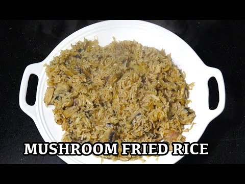 Mushroom Fried Rice - Easy Fried Rice