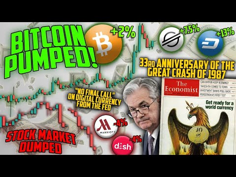 🔴 BITCOIN LIVE 🔴BTC Pumped, Stocks Dumped! – Ep. 1146- Crypto Technical Analysis