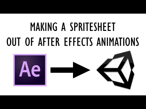 How to Convert After Effects Animations into a Spritesheet for Unity (Free and Quick)