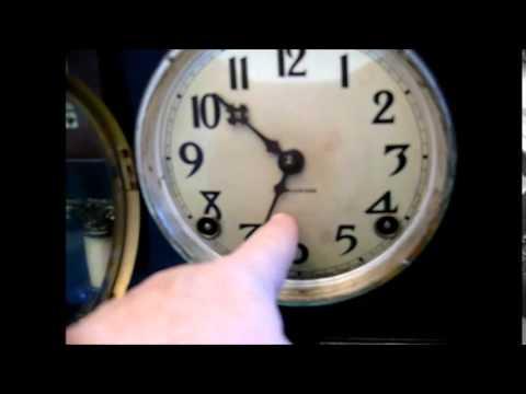 Antique 1915 Ingraham De Soto Mantel Clock