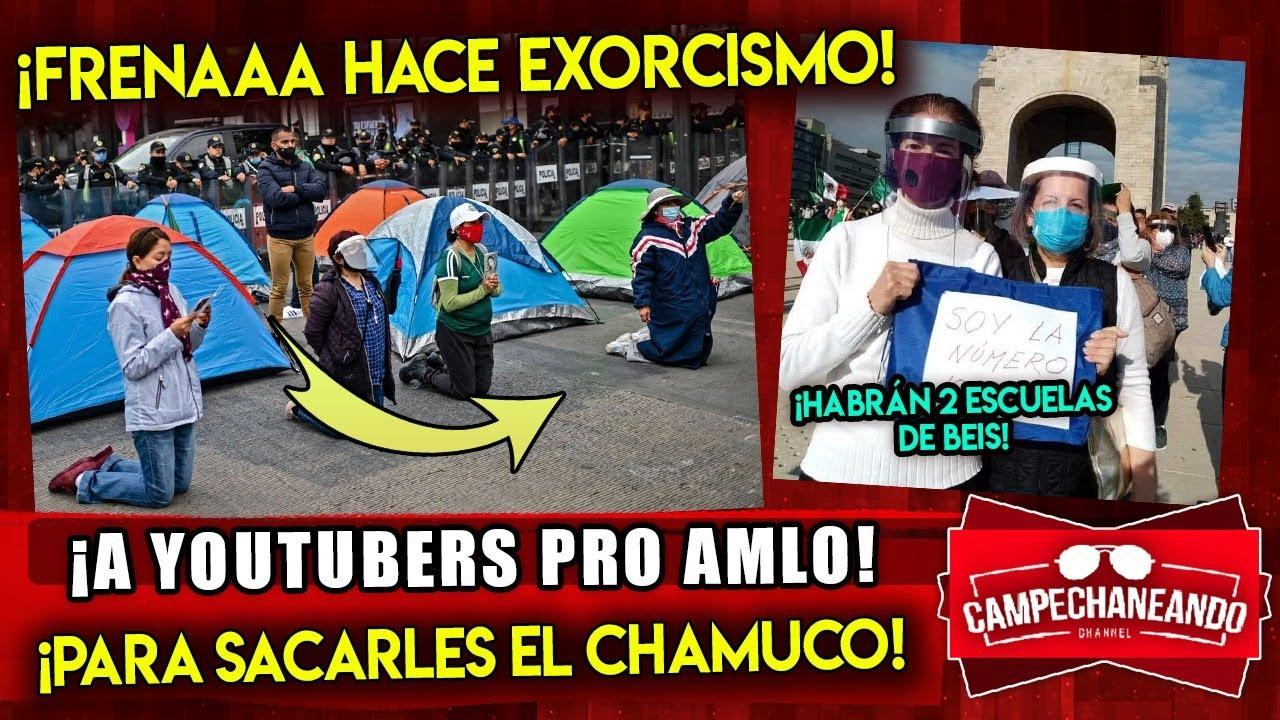 Download ¡PASADOS DE LANZA! FRENAAA EXORCISA A PRO AMLO ¡PARA SACARLES EL CHAMUCO!