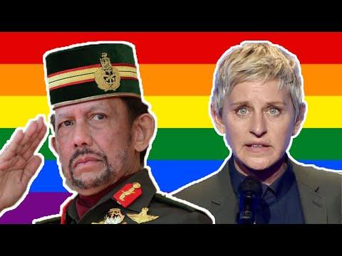 Ellen DeGeneres BOYCOTTS Hotels Owned By Brunei Over Disgusting Anti-LGBT Laws