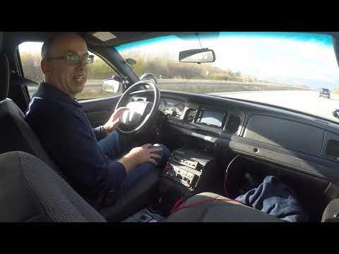 my new Crown vic Police Interceptor on German Autobahn