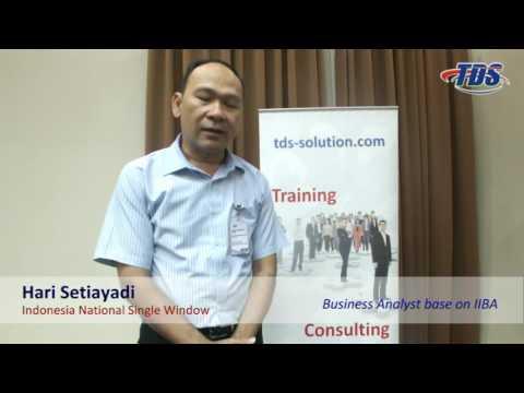 Testimony Public Training Business Analyst base on IIBA