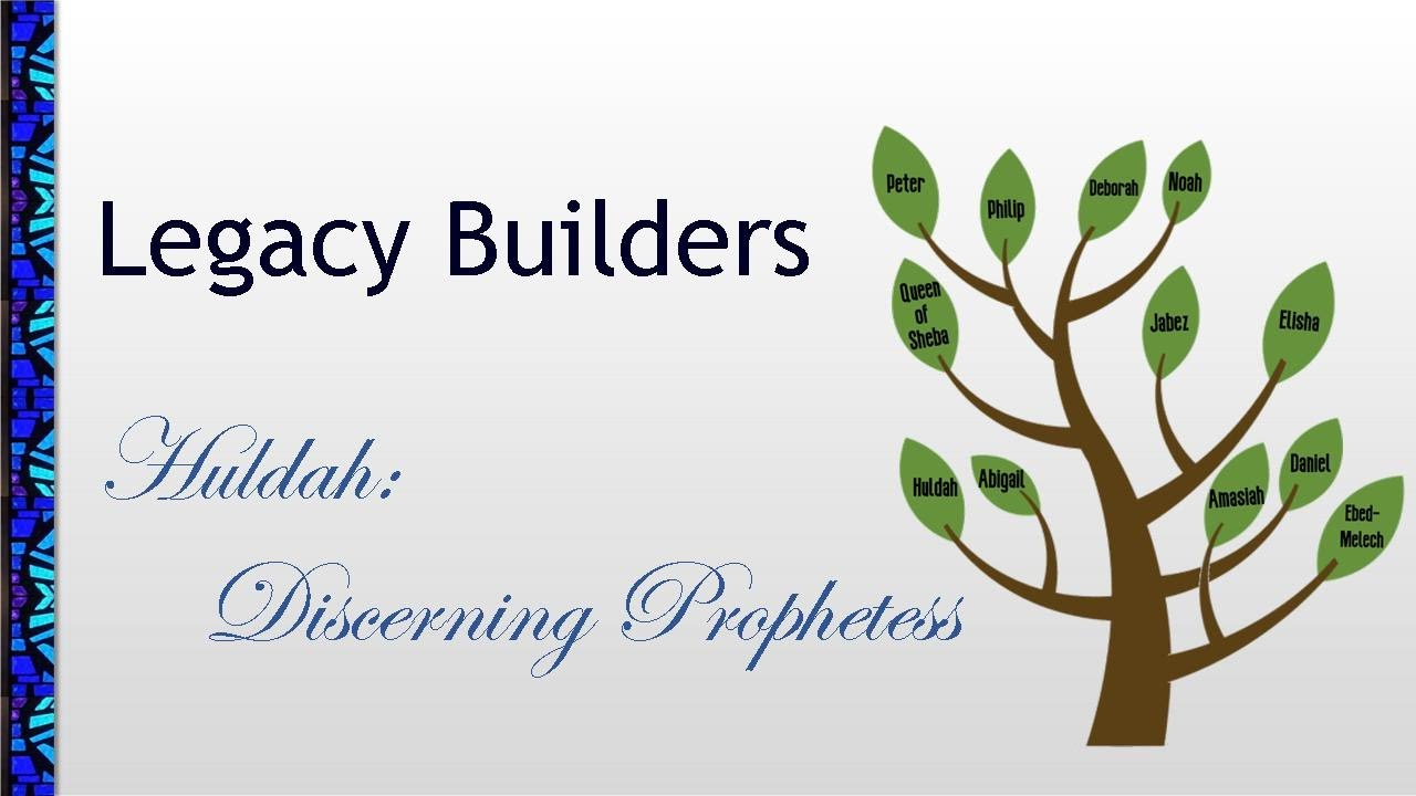 July 5, 2020 Service: Huldah: Discerning Prophetess (Replay)